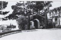 Casa Ladera front entrance in 1948