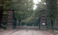 Entrance to Forest Hill Cemetery, Fredonia New York