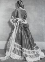 Dress worn by Amanda and later given to museum