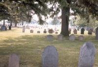 View of Rowley Burial Ground