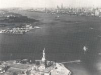 Ellis Island just before its closure in the 1950s