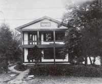 House where Marion was born