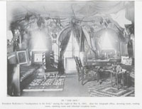 "President McKinley's ""headquarters in the field"""