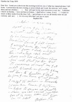 Letter from Stephen Otis to son Harrison